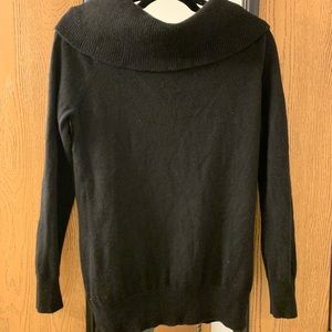 Cynthia rowley black cashmere sweater